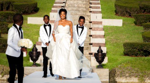 Dwyane Wade & Gabrielle Union Wedding