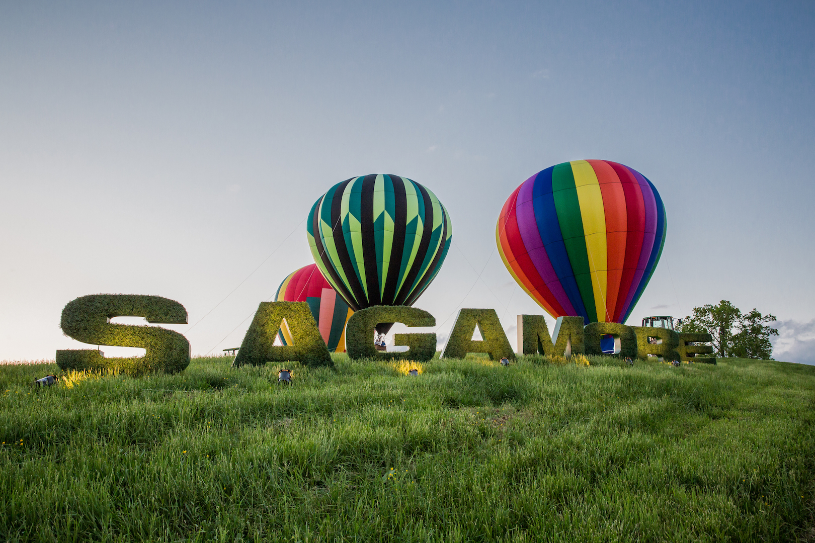 Sagamore Oversized Letters