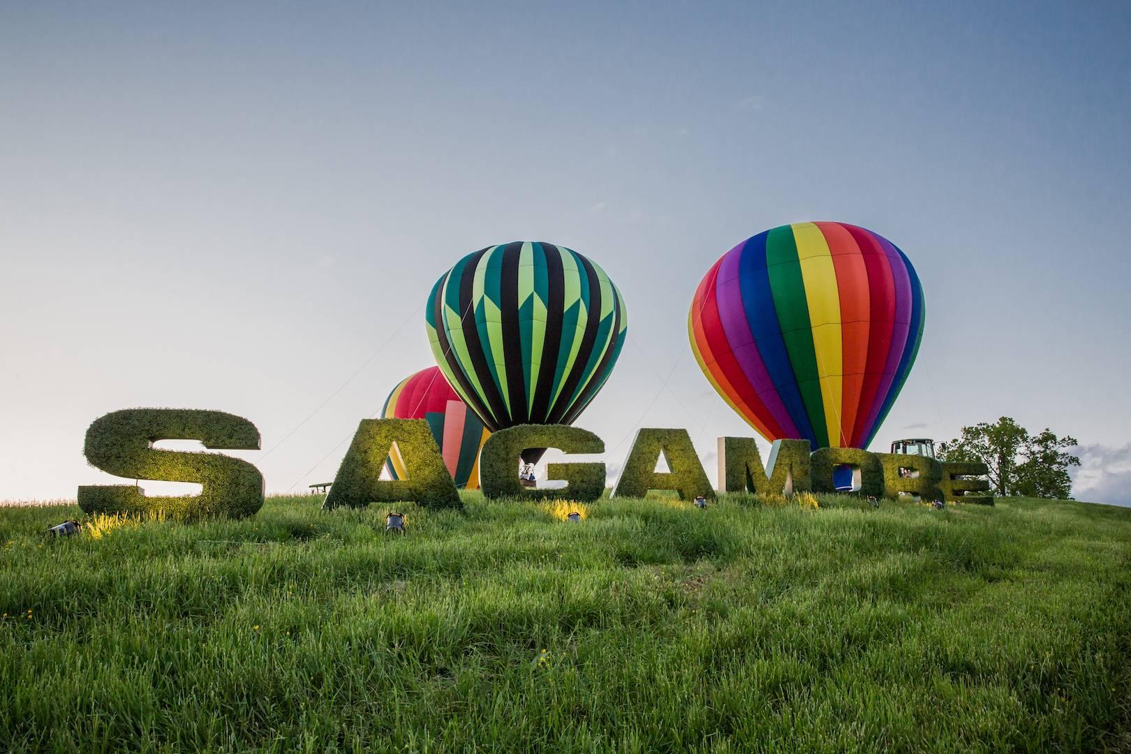 Sagamore Oversized Letters