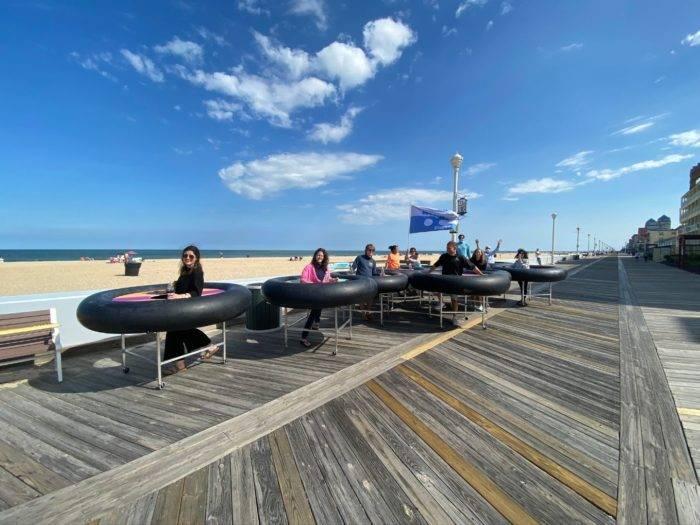 Revolution Bumper Tables in Ocean City Maryland